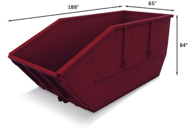Lugger Bins with dimensions